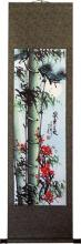"""54"""" Large Beijing Bamboo :: Chinese Scroll Paintings"""