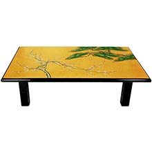 Guilded Sushi Table :: Asian Style Furniture