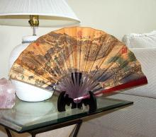 Japan Harbor Bridge :: Table Display Fans