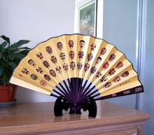 Kabuki Masks :: Table Display Fans