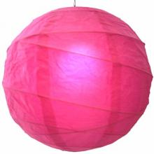 Wedding Rose-Pink Globe Lantern :: Chinese Lanterns