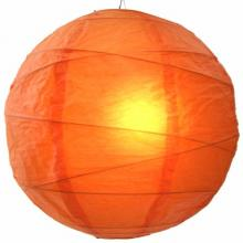Tangy Orange Globe Lantern :: Chinese Lanterns