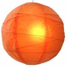 Tangy Orange Globe Lantern ::
