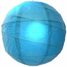 Refreshing Aqua Blue Globe Lantern :: Chinese Lanterns