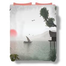Still Water Duvet Cover :: Asian Duvet Covers