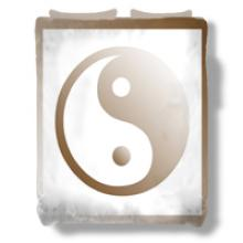 Yin Yang Bedspread :: Asian Bedspreads