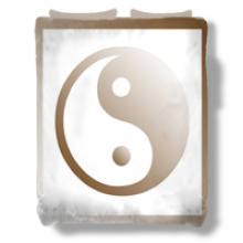 Yin Yang Duvet Cover :: Asian Duvet Covers