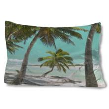 Peaceful Paradise Pillow Case :: Asian Pillows