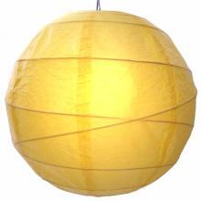 Sunny Yellow Globe Lantern :: Chinese Lanterns