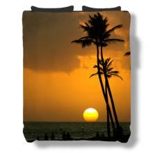 Tropical Sunset Duvet Cover :: Asian Duvet Covers