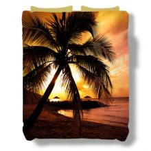 Sunset Beach Bedspread :: Asian Bedspreads