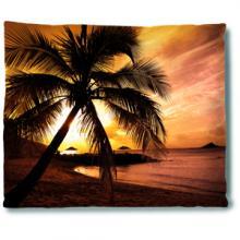 Sunset Beach Blanket :: Asian Blankets