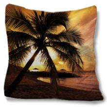Sunset Beach Throw Pillow :: Asian Pillows