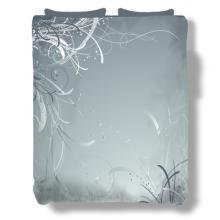 Silver Strike Duvet Cover :: Asian Duvet Covers