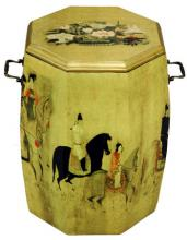 Golden Drum Stool :: Asian Style Furniture