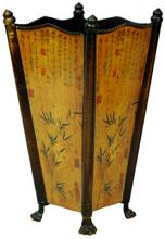 Bamboo Accent Umbrella Stand :: Asian Style Furniture