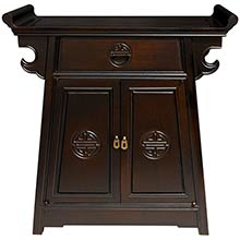 Rosewood Altar Cabinet :: Asian Style Furniture