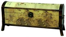 Galloping Horse Design Storage Box :: Oriental Boxes and Trunks