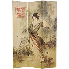 Asian Beauty Shoji Screen :: Double Sided Shoji Screens