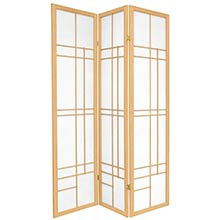 Hinaga Japanese Shoji Screen (Natural Finish) :: Japanese Shoji Screens