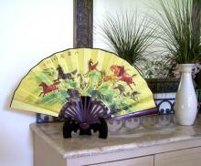 Galloping Herd :: Table Display Fans