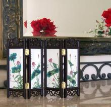 8 inch Lilies of the Field :: Mini Tabletop Screens