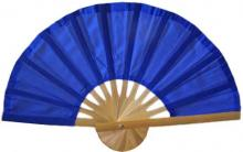 Blue Bamboo Hand Fan :: Asian Hand Fans