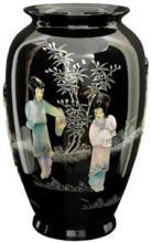 Black Tung Chi Vase :: Porcelain Vases