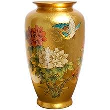 Gold Tung Chi Vase ::