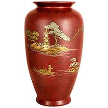 Red Tung Chi Vase :: Porcelain Vases