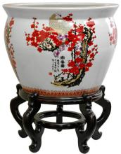 Cherry Blossom Fish Bowl ::