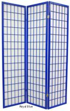 Royal Blue Japanese Window Screen ::