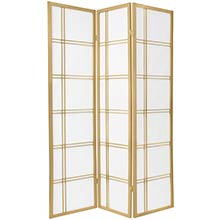 Gold Double Ruled Screen :: Japanese Shoji Screens