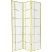Ivory Double Ruled Screen :: Japanese Shoji Screens