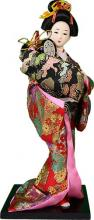 Performing Geisha :: Japanese Geisha Dolls