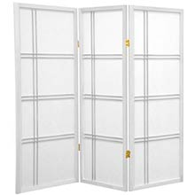 "48"" Zen Shoji Screen (White Finish) :: 48"" Short Shoji Screens"