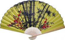Gold Bamboo :: Asian Wall Fans