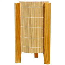 Kago Lamp (Honey Finish) :: Bamboo Decor