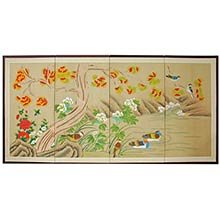 Forever Forrest :: Japanese Silk Paintings