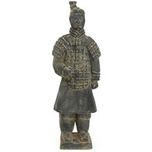 "14"" Xian Terra Cotta Warrior :: Buddhist Statues"