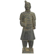 "20"" Xian Terra Cotta Warrior :: Buddhist Statues"