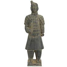 "20"" Xian Terra Cotta Warrior :: Buddhist Statues"