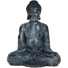 """12"""" Japanese Sitting Buddha Statue :: Buddhist Statues"""