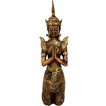 "16"" Thepenom Thai Angel Statue"