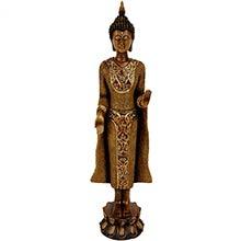 """20"""" Standing Thai Buddha Statue ::"""