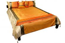 Amber Silk Thai Elephant Bedding