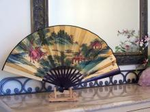 Colorful Hills :: Table Display Fans