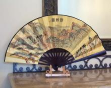 Winding Great Wall :: Table Display Fans