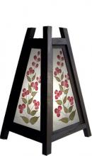 "10.5"" Triangular Cut Flower Lamp :: Decorative Lamps"