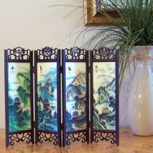 12 inch Great Wall through the Seasons :: Mini Tabletop Screens